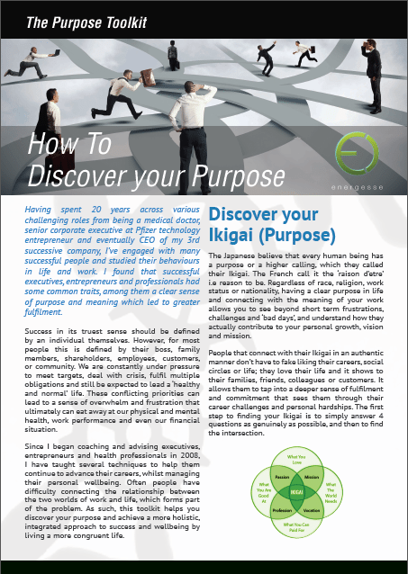 Get your FREE copy of The Purpose Toolkit